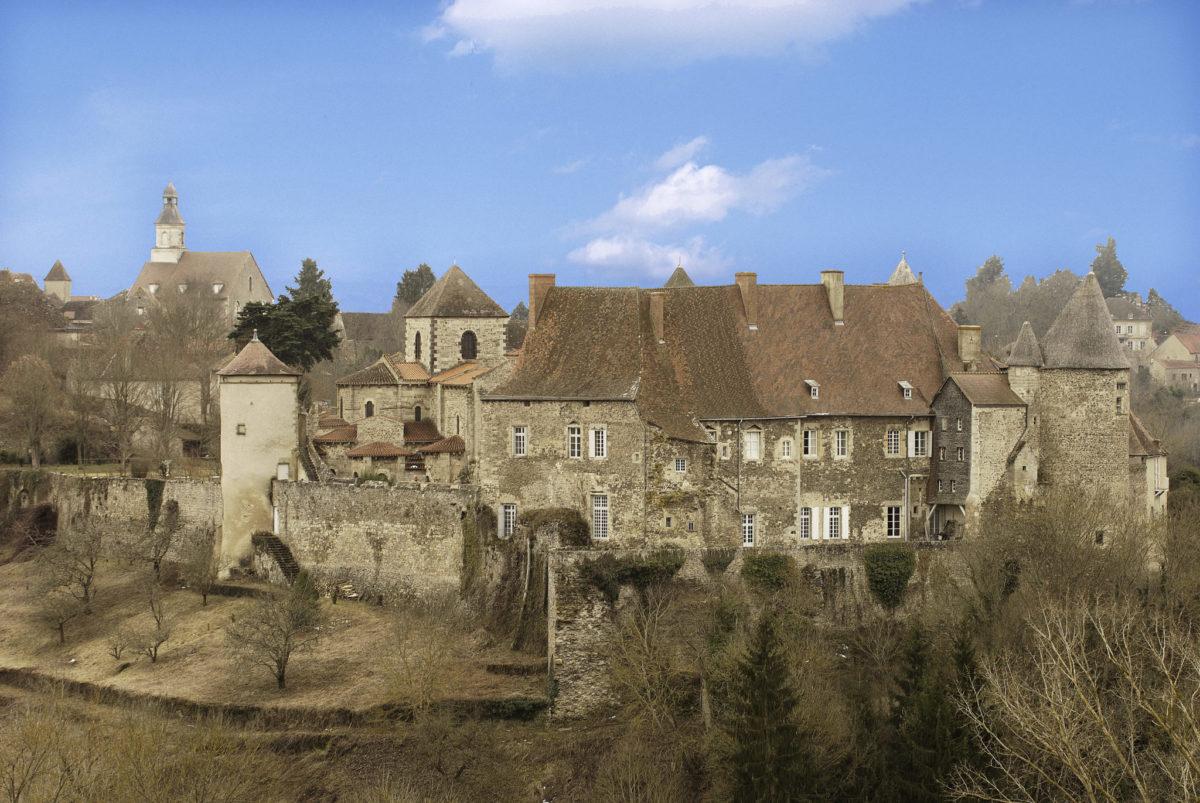 Abbaye de Chantelle © F. Etienne
