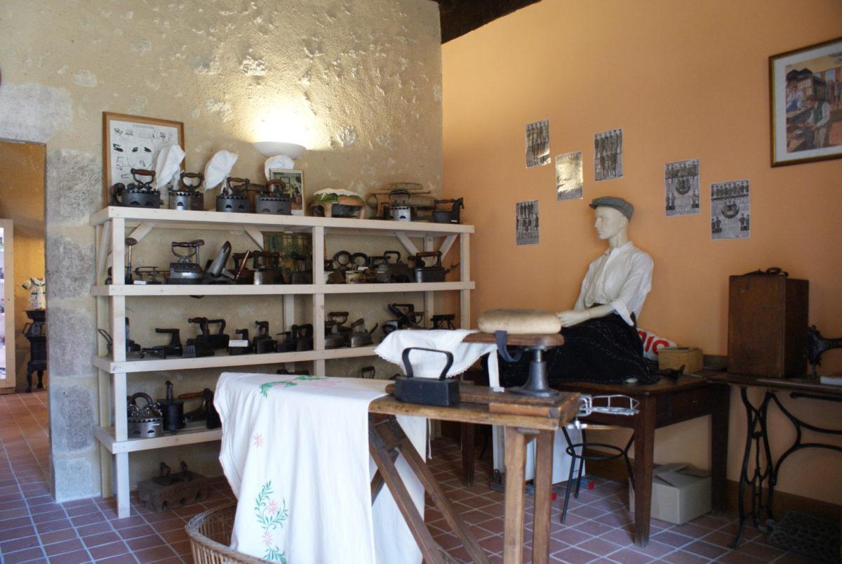 Musée du Lavage et du Repassage © OT Val de Sioule
