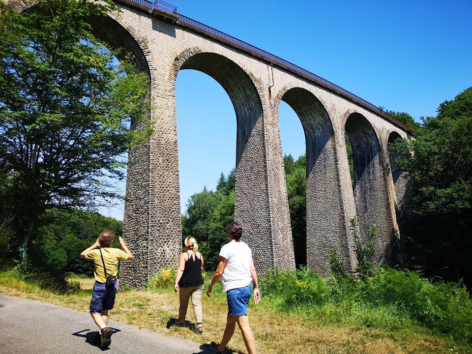 Viaduc de la Perrière © OT Val de Sioule