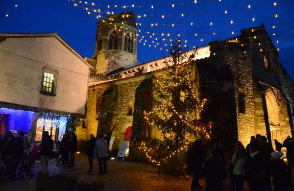 Marché de Noël à Charroux