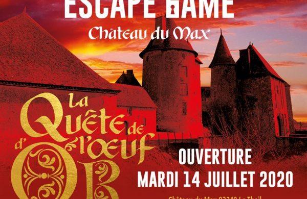 Immersion dans l'Escape Game du Château du Max !