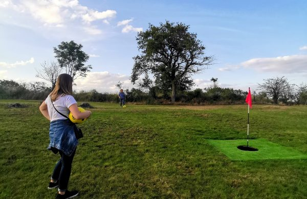 On a testé : le Football Golf à Target !