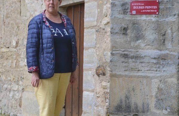 En visite sur la route des Eglises Peintes du Bourbonnais !