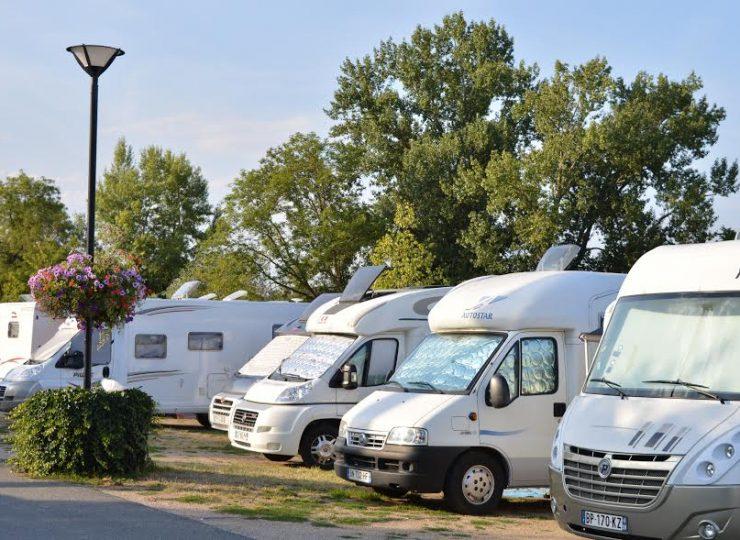 Aire de services camping-car